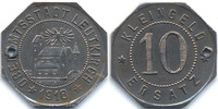 W&uuml;rttemberg 10 Pfennig 1918 vorz&uuml;glich Leutkirch - Eisen 1918 (Funck 294... 199,00 EUR 