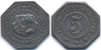 Sachsen 5 Pfennig 1917 sehr sch&ouml;n+ Oschersleben - Eisen 1917 (Funck 412.... 549,00 EUR 
