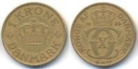 1 Krone 1938 NGJ Dänemark - Denmark Christian X. 1912-1947 sehr schön  25,00 EUR  +  4,80 EUR shipping