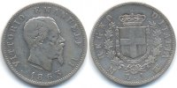 Italien - Italy 1 Lira 1863 MBN sehr sch&ouml;n - gereinigt Viktor Emanuel II... 29,00 EUR 