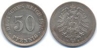 50 Pfennig 1875 C Kaiserreich kleiner Adler - Silber fast vorzüglich  32,00 EUR  +  4,80 EUR shipping