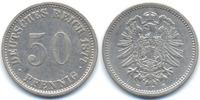 50 Pfennig 1877 E Kaiserreich kleiner Adler - Silber sehr schön - leich... 48,00 EUR  +  4,80 EUR shipping