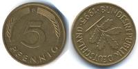 5 Pfennig 1995 F BRD Stahl/tombakplattiert – starke Stempeldrehung fast... 69,00 EUR  +  4,80 EUR shipping