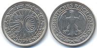 50 Reichspfennig 1938 E Weimarer Republik Nickel vorzüglich  28,00 EUR  +  4,80 EUR shipping