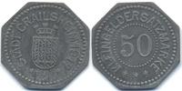 50 Pfennig 1917 Württemberg Crailsheim - Zink 1917 (Funck 83.3) sehr sc... 38,00 EUR  +  4,80 EUR shipping