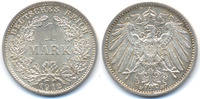 1 Mark 1912 D Kaiserreich großer Adler - Silber prägefrisch  25,00 EUR  +  4,80 EUR shipping