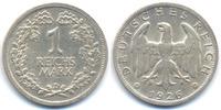 1 Reichsmark 1926 D Weimarer Republik Silber gutes sehr schön+  25,00 EUR  +  4,80 EUR shipping