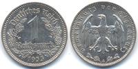 Drittes Reich 1 Reichsmark Nickel