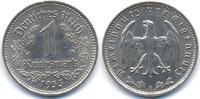 1 Reichsmark 1933 A Drittes Reich Nickel prägefrisch+  22,00 EUR  +  4,80 EUR shipping