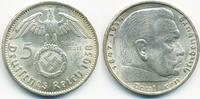 5 Reichsmark 1938 A Drittes Reich Hindenburg mit Hk - Silber prägefrisc... 25,00 EUR  +  4,80 EUR shipping