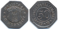 50 Pfennig 1918 Posen Meseritz - Eisen 1918 (Funck 332.3a) gutes sehr s... 30,00 EUR  +  4,80 EUR shipping