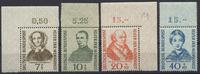 7 bis 40 Pfennig 1955 Bund Wohlfahrtspflege – Satz 4 Marken postfrisch ... 25,00 EUR  +  4,80 EUR shipping