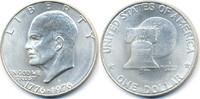 1 Dollar 1976 S USA - USA Eisenhower Bicentennial – Silber prägefrisch/... 14,00 EUR