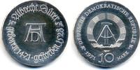 10 Mark 1971 DDR Albrecht Dürer - Silber prägefrisch - winzige Kratzer  29,00 EUR