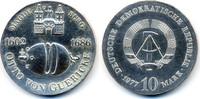 10 Mark 1977 DDR Otto von Guericke - Silber prägefrisch  69,00 EUR