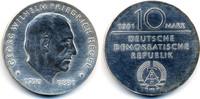 10 Mark 1981 DDR Georg Wilhelm Friedrich Hegel - Silber prägefrisch/ste... 32,00 EUR