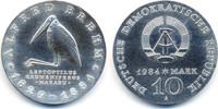 10 Mark 1984 DDR Alfred Brehm - Silber prägefrisch  62,00 EUR