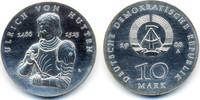 10 Mark 1988 DDR Ulrich von Hutten - Silber prägefrisch - winzige Kratz... 74,00 EUR