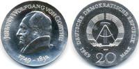 20 Mark 1969 DDR Johann Wolfgang Goethe - Silber prägefrisch/stempelgla... 65,00 EUR