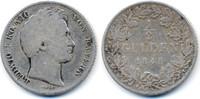1/2 Gulden 1845 Bayern Ludwig I. 1825-1848 schön  15,00 EUR