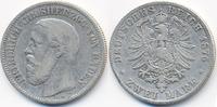 2 Mark 1876 G Baden Friedrich I. 1856-1907 schön  42,00 EUR