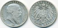2 Mark 1906 G Baden Friedrich I. 1856-1907 sehr schön+ - winzige Kratzer  129,00 EUR