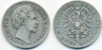 2 Mark 1876 D Bayern Ludwig II. 1864-1886 schön  39,00 EUR  +  4,80 EUR shipping