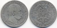 2 Mark 1877 A Preußen Wilhelm I. 1861-1888 schön  16,00 EUR