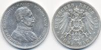 5 Mark 1913 A Preußen Wilhelm II. 1888-1918 – Büste in Uniform knapp vo... 35,00 EUR