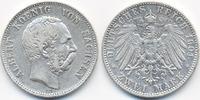 2 Mark 1901 E Sachsen Albert 1873-1902 sehr schön  60,00 EUR  +  4,80 EUR shipping