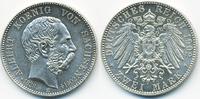 2 Mark 1902 E Sachsen Albert 1873-1902 – Auf den Tod von König Albert f... 105,00 EUR