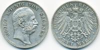 2 Mark 1903 E Sachsen Georg 1902-1904 gutes sehr schön  75,00 EUR  +  4,80 EUR shipping