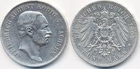 5 Mark 1907 E Sachsen Friedrich August III. 1904-1918 sehr schön/vorzüg... 59,00 EUR