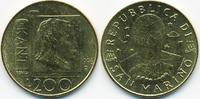 200 Lire 1996 San Marino - San Marino Republik - Kant vorzüglich  3,00 EUR