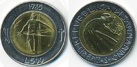 500 Lire 1985 San Marino - San Marino Republik – Krieg den Drogen Bimet... 4,00 EUR