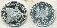10 DM 1992 D BRD Pour le Merite Polierte Platte/Proof  9,00 EUR  +  1,80 EUR shipping