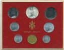 Kursmünzensatz 1966 Vatikan - Vatican Paul VI. prägefrisch  25,00 EUR