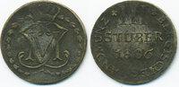 3 Stüber 1806 S Berg-Herzogtum Maximilian Joseph von Bayern 1799-1806 g... 25,00 EUR