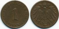 1 Pfennig 1916 Kaiserreich großer Adler – Kupfer – zu kleiner Schrötlin... 15,00 EUR  +  1,80 EUR shipping