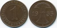 1 Reichspfennig 1935 D Weimarer Republik Kupfer - Verprägung gutes vorz... 12,00 EUR  +  1,80 EUR shipping