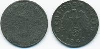 1 Reichspfennig 1940 Drittes Reich Zink – zu kleiner Schrötling vorzügl... 15,00 EUR  +  1,80 EUR shipping