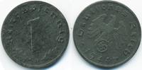 1 Reichspfennig 1944 D Drittes Reich Zink – Stempeldrehung vorzüglich  4,00 EUR  +  1,80 EUR shipping