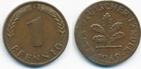 1 Pfennig 1949 F BRD Stahl/kupferplattiert - Verprägung fast vorzüglich  5,00 EUR  +  1,80 EUR shipping
