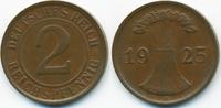 2 Reichspfennig 1925 D Weimarer Republik Kupfer – Stempelrisse gutes se... 4,00 EUR  +  1,80 EUR shipping