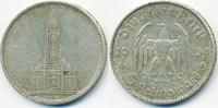 5 Reichsmark 1934 D Drittes Reich Garnisonskirche ohne Datum - Silber s... 10,00 EUR  +  1,80 EUR shipping