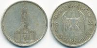 5 Reichsmark 1935 A Drittes Reich Garnisonskirche ohne Datum - Silber s... 9,50 EUR  +  1,80 EUR shipping