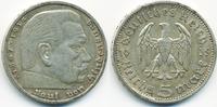 5 Reichsmark 1935 A Drittes Reich Hindenburg ohne Hk - Silber sehr schön  10,00 EUR  +  1,80 EUR shipping