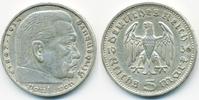 5 Reichsmark 1936 G Drittes Reich Hindenburg ohne Hk - Silber sehr schö... 11,00 EUR  +  1,80 EUR shipping
