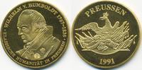 vergoldete Kupfer/Nickel Medaille 1991 BRD Wilhelm von Humboldt prägefr... 7,00 EUR  +  1,80 EUR shipping