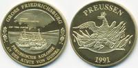 vergoldete Kupfer/Nickel Medaille 1991 BRD Preussische Kolonie - Gross ... 7,00 EUR  +  1,80 EUR shipping
